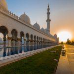 Entdecke die Sheikh Zayid Moschee in Abu Dhabi
