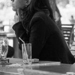 Warten und Denken im Jardin des Tuileries