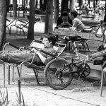 Pause im Jardin des Tuileries