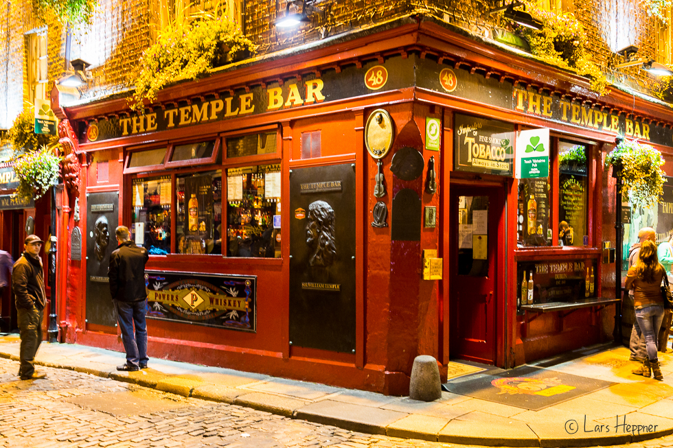 Streetfotografie Dublin: The Temple Bar