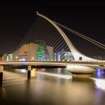 Streetfotografie Dublin: Samuel Beckett Bridge