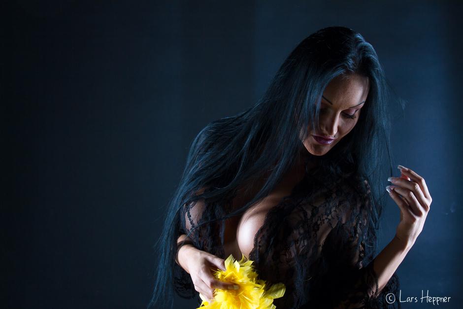 Mit Licht und Haaren gespielt - Sun Aurora