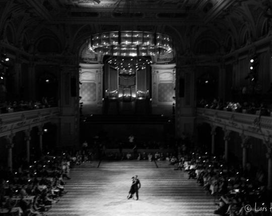Tango Argentino Festival im Film Noir Look