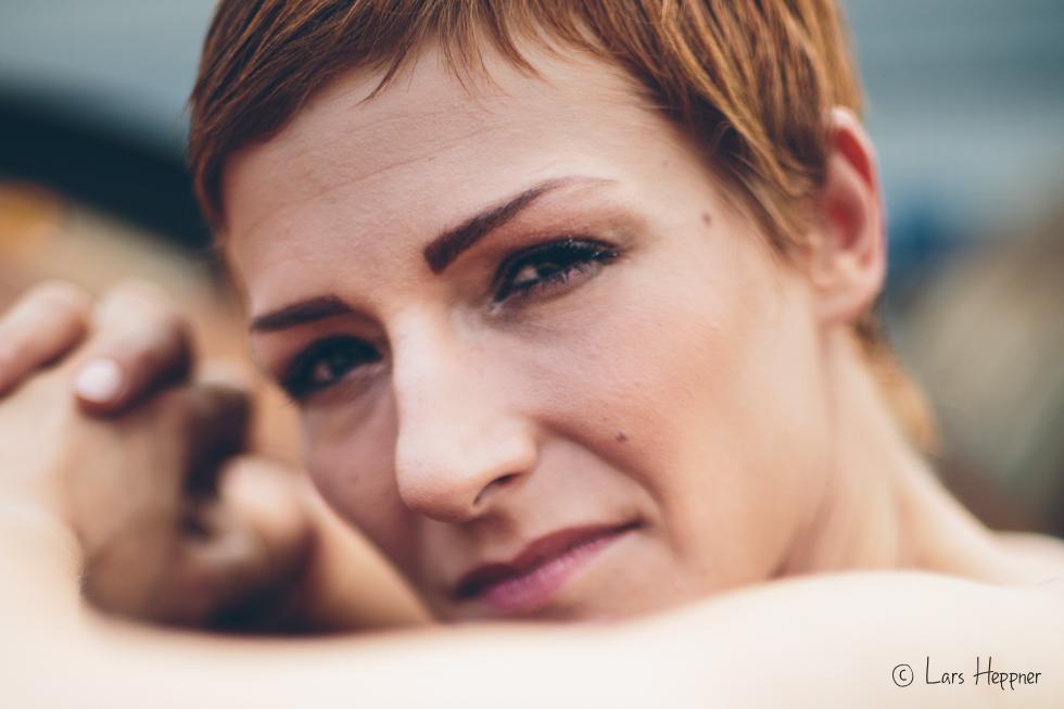 Closeup Tanja - Portrait unter Available Light