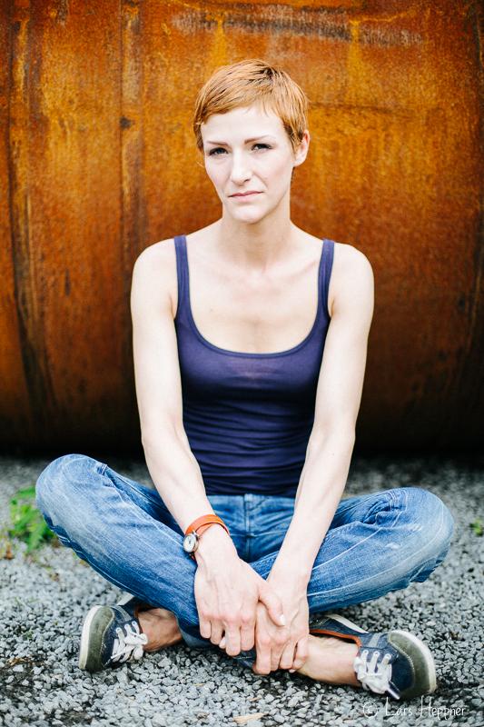 Tanja - Portrait unter Available Light