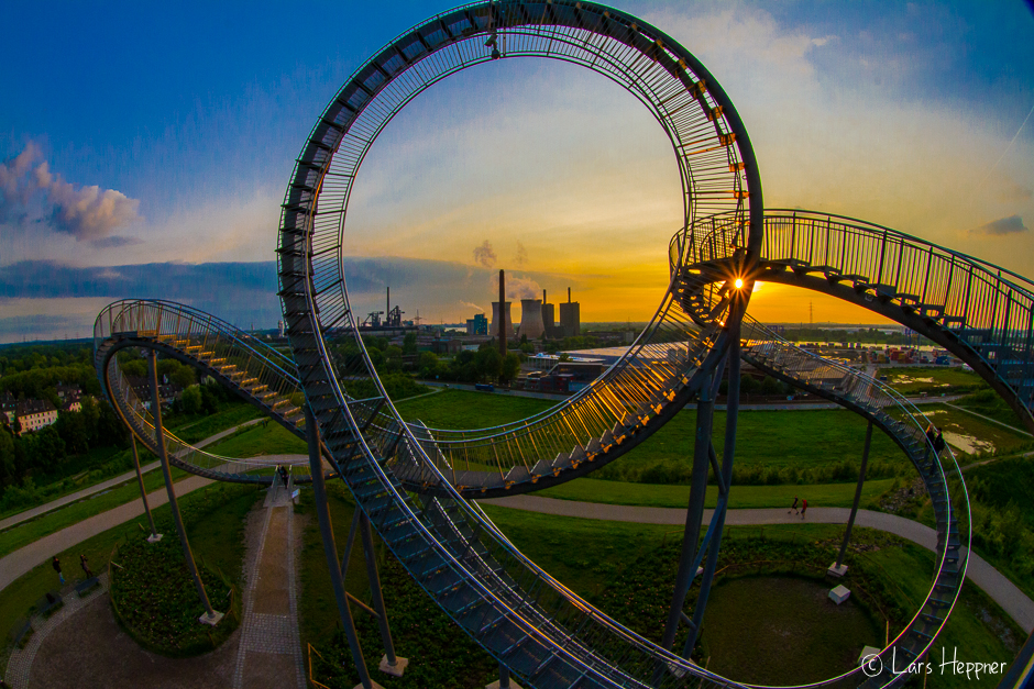 Tiger & Turtle (Magic Mountain) in Duisburg