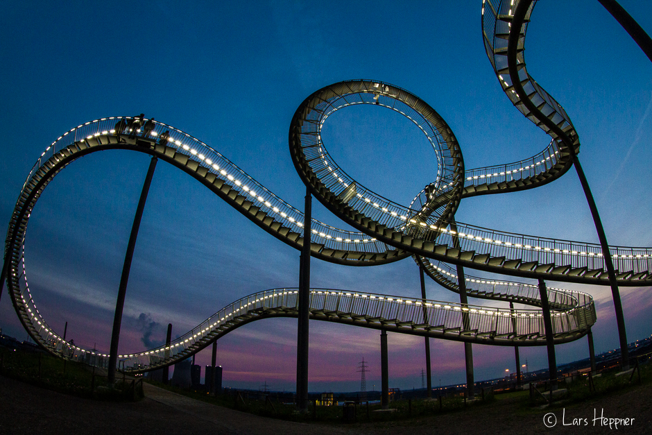 Langzeitbelichtung Tiger & Turtle – Magic Mountain