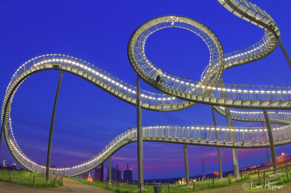 Tiger & Turtle – Magic Mountain als HDR