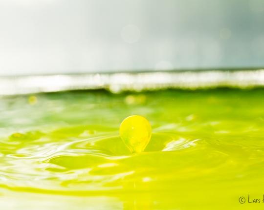 Wassertropfen-Fotografie