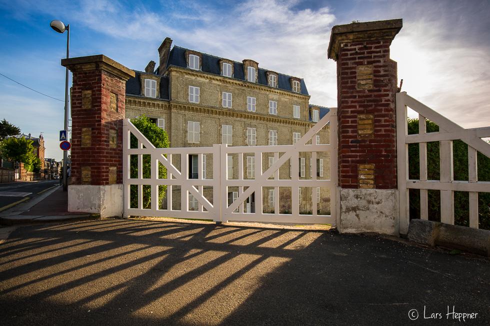 Lichtspiel in Trouville (Normandie)