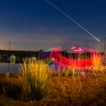 Light Painting: UFO