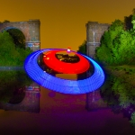 Light Painting: UFO in Dortmund