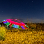 Light Painting: Ufo Landung