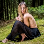 Wald Shooting mit Jenni Johanna