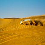 Action-Fotografie in der Wüste