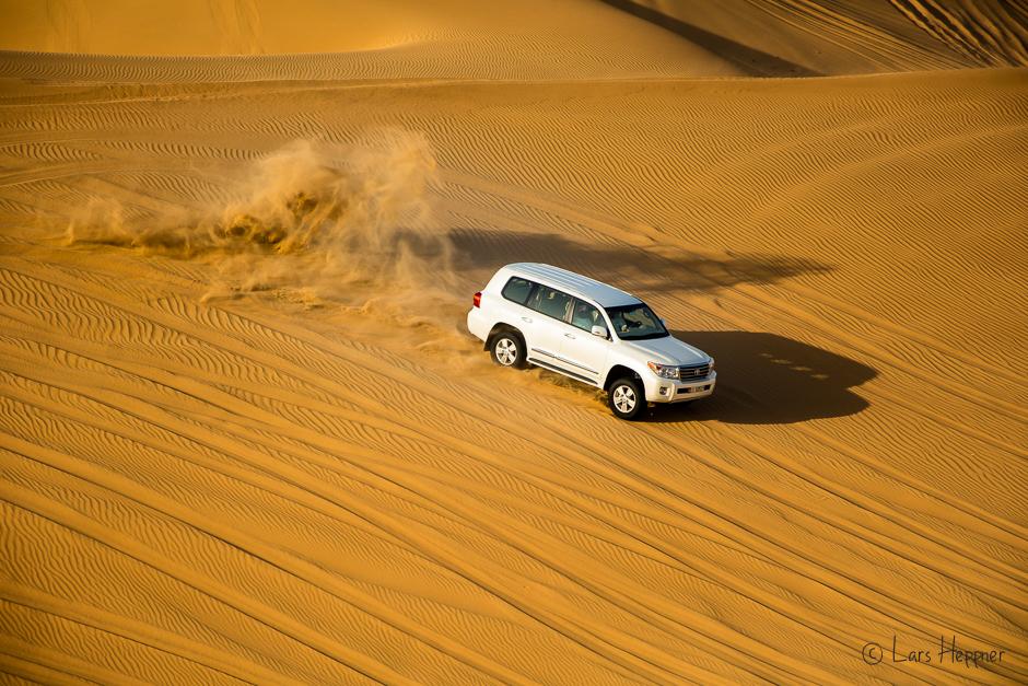 Wüstensafari mit Licht & Schatten