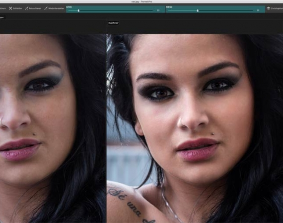 PortraitPro Studio Max Screenshot